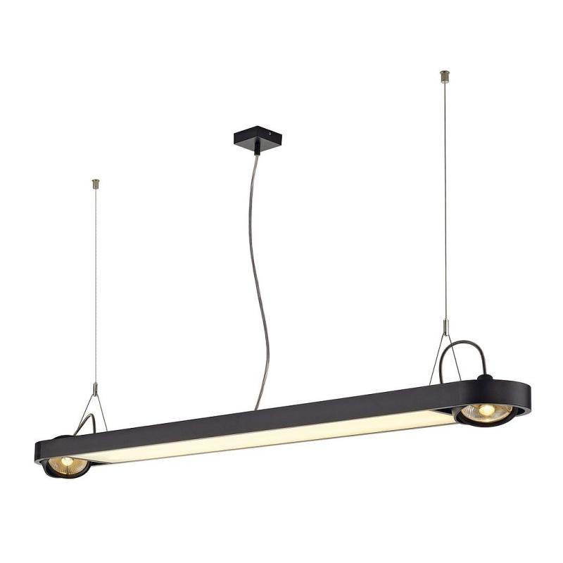 aixlight r office t5 rund pendelleuchte schwarz max 2xt5 54w 2. Black Bedroom Furniture Sets. Home Design Ideas