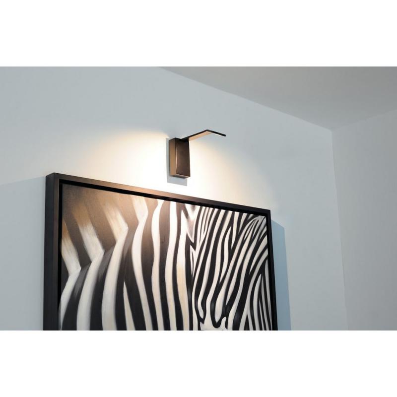 led wandleuchte air indi display schwarz. Black Bedroom Furniture Sets. Home Design Ideas