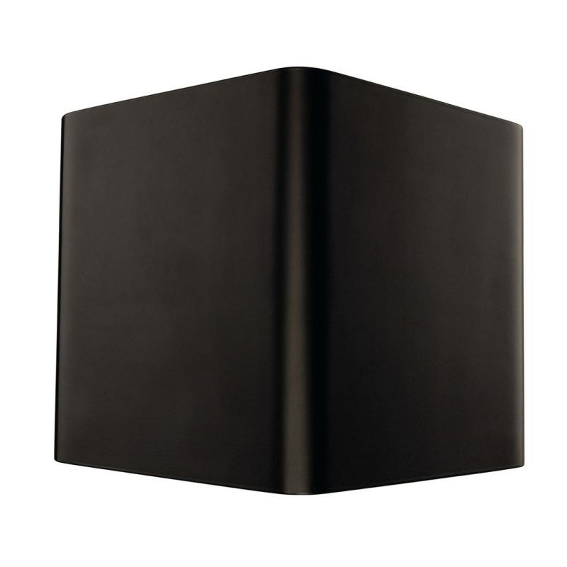 led wandleuchte cariso 1 schwarz messing. Black Bedroom Furniture Sets. Home Design Ideas
