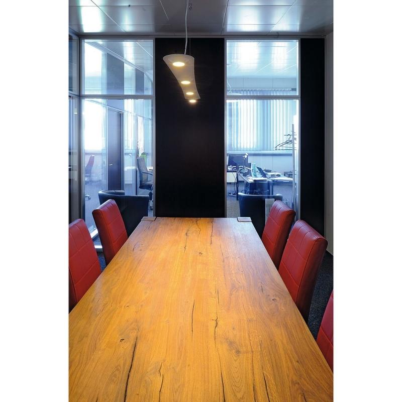 lefa 4 pendelleuchte weiss 4x5w led 3000k nicht dimmbar. Black Bedroom Furniture Sets. Home Design Ideas