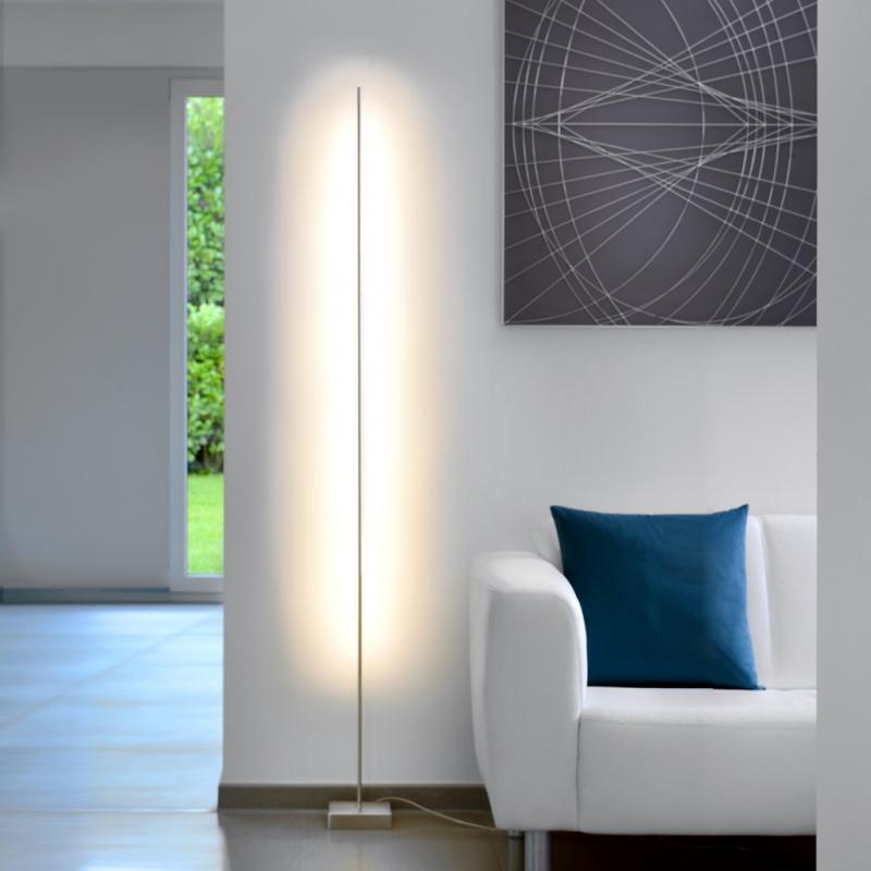 sompex led stehleuchte pin. Black Bedroom Furniture Sets. Home Design Ideas