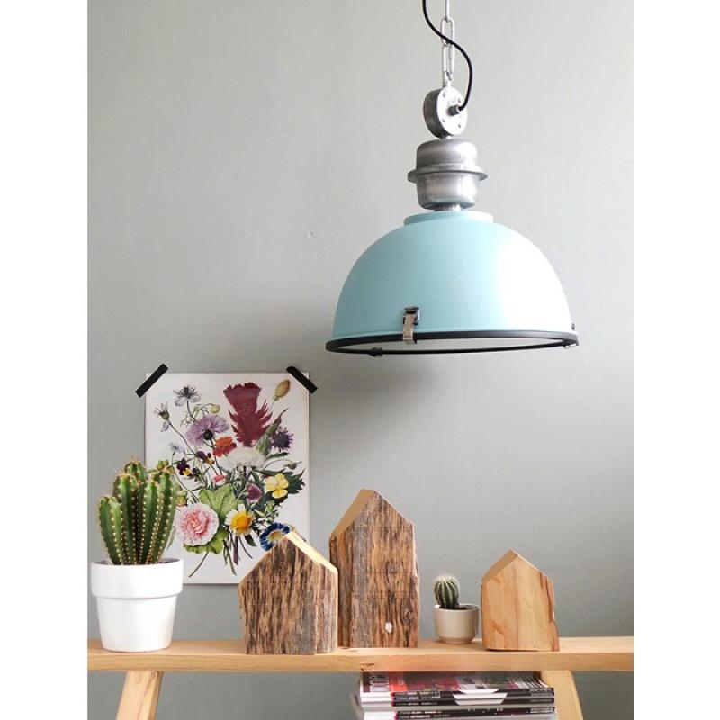 steinhauer pendelleuchte bikkel blau. Black Bedroom Furniture Sets. Home Design Ideas