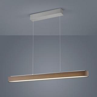 pendelleuchte organza led oval. Black Bedroom Furniture Sets. Home Design Ideas