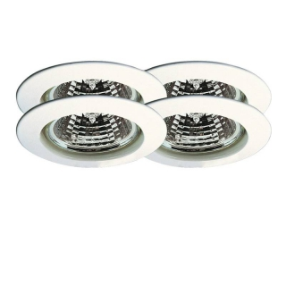 Premium EBL 4er-Set Halogen 51mm Weiß