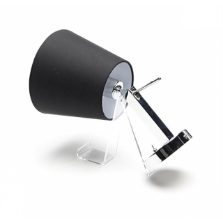schwenkbare wandleuchte pixi schwarz. Black Bedroom Furniture Sets. Home Design Ideas
