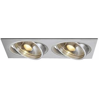 New Tria II ES111 Downlight, rechteckig, alu brushed