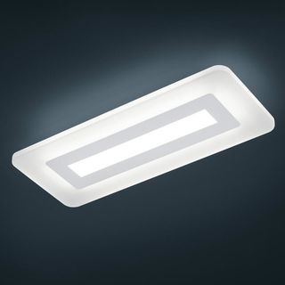 dimmbare Glas LED Deckenleuchte Wes