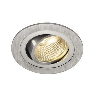 NEW TRIA LED DL ROUND Set, Downlight, alu-brushed,6W,38°,...