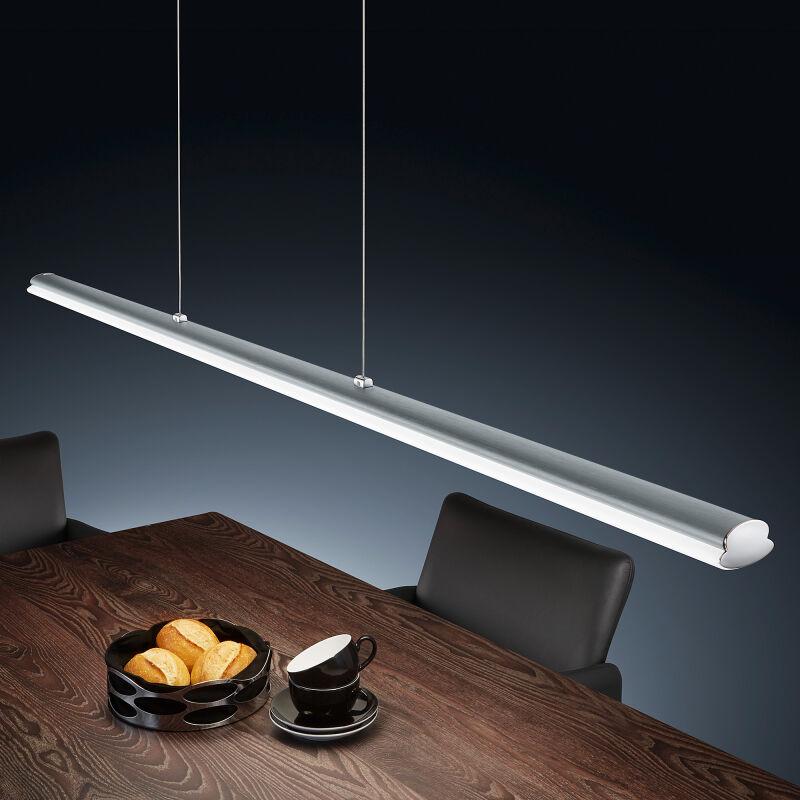 venta led pendelleuchte mit touchdimmer mattnickel leuchten. Black Bedroom Furniture Sets. Home Design Ideas